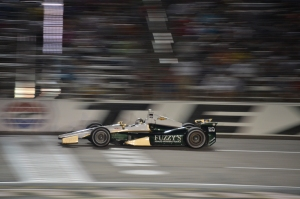 Ed Carpenter on track during the Firestone 600. Photo by Chris Owens.