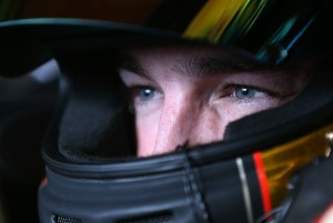 Ty Dillon looks on during Friday practice at Mid Ohio. Photo by Sarah Glenn/Getty Images North America